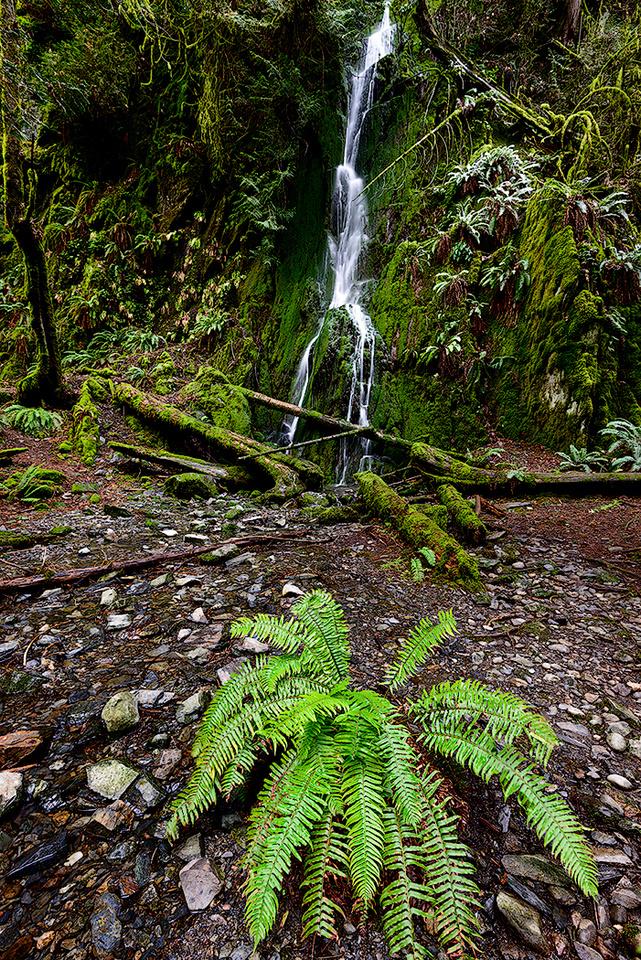 Goldstream Park falls 3